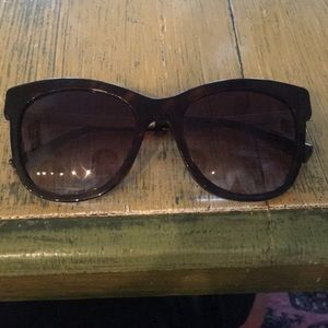 dbeac0e75b2e Giorgio Armani tortoiseshell oversized Sunglasses